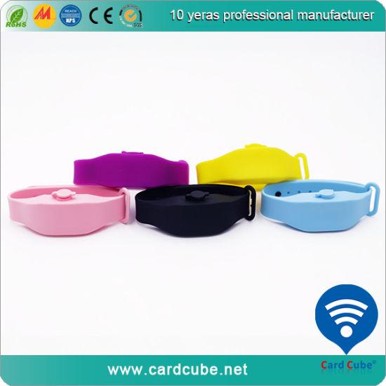 Hand Sanitizer Wristband Bracelet Silicon Custom Logo Eco-Friendly