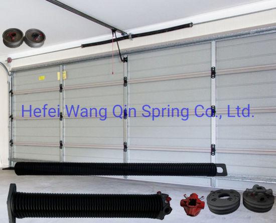 Wholesale Black Security High Carbon Steel Garage Door Hardware Torsion Spring