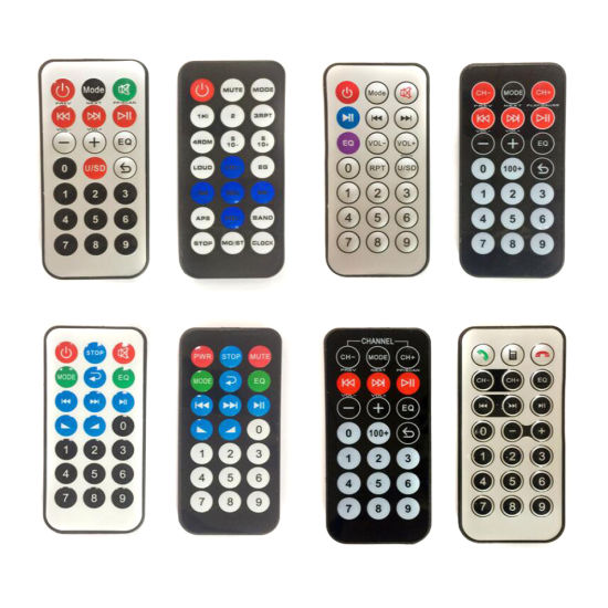 Factory Price 6 Keys Universal IR Remote Control for Air Conditioner Fan Support OEM pictures & photos