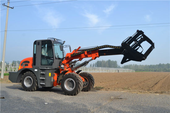 2t 0.8m3 Bucket Telescopic Wheel Loader pictures & photos