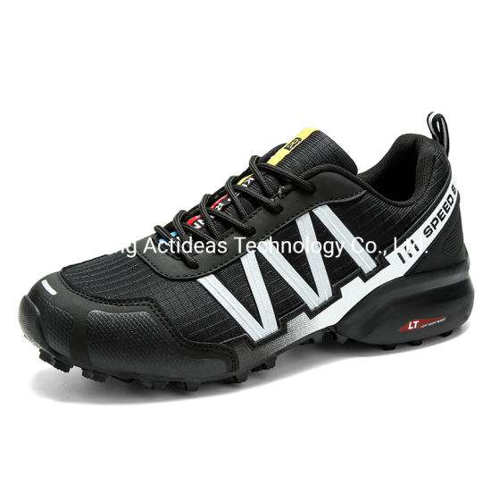 Hot Selling Men Sneaker Fashion Comfortable PU Upper Rubber Outsole Women Waterproof Sports Shoes