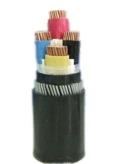 Copper Cable Underground Steel Armored PVC Insulated Cable, Wire, XLPE Insulated Power Cable
