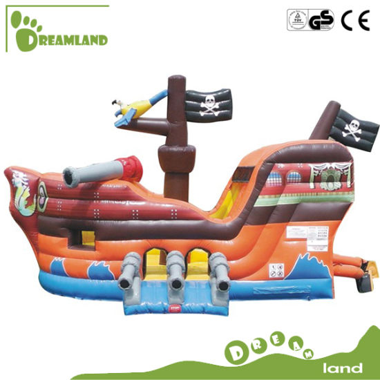 Interesting Commercial Large Inflatable Bouncer Castle Slide for Kids pictures & photos