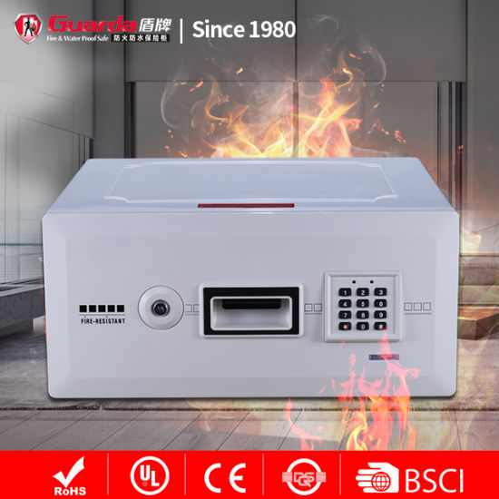 1-Hour Digital Drawer Fireproof Safe Box for Home Jewellery Safety 0.6 Cu FT/17.1L
