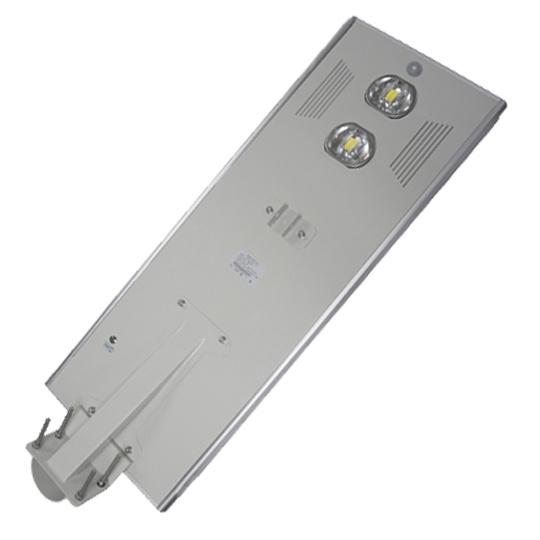 40-80W 180lm/W Good Quality Integrated Solar Road Walkway Street Light