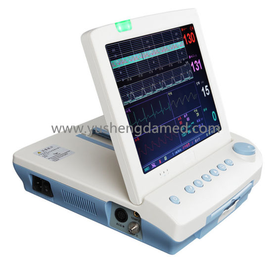 Multi-Parameter Medical Equipment Portable Fetal Patient Monitor pictures & photos