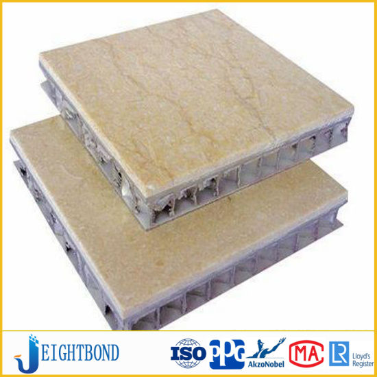 Limestone Stone Aluminum Honeycomb Panel for Inner Wall Decoration pictures & photos