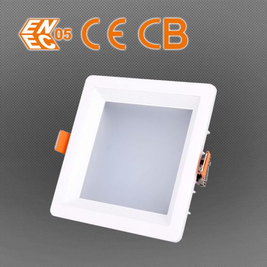 30W 2400lm Ce RoHS FCC Listed Square LED Down Light pictures & photos