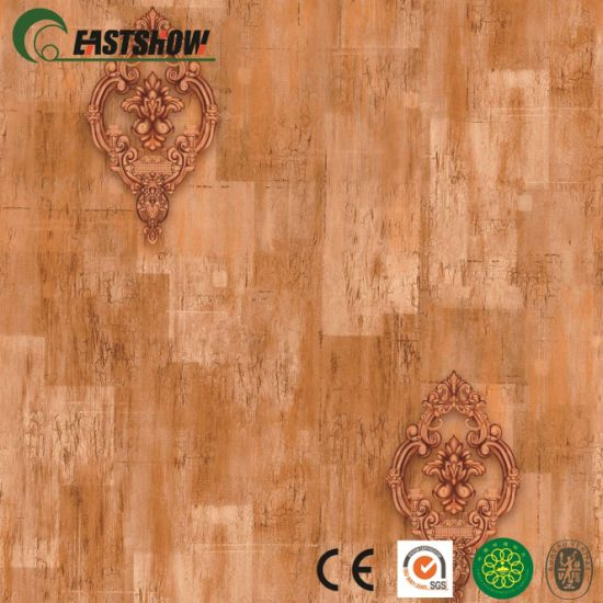3D PVC Wood Damascus Wall Paper Wall Coverings Decor