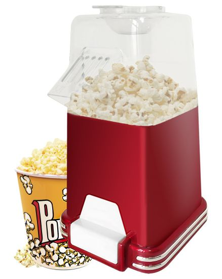Red Color or Metallic Color Air Popcorn Maker