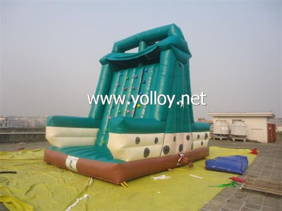 Inflatable Rock Climbing Wall for Big Carnivals pictures & photos