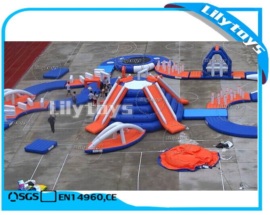 Giant PVC Inflatable Pool Inflatable Water Park for Sale