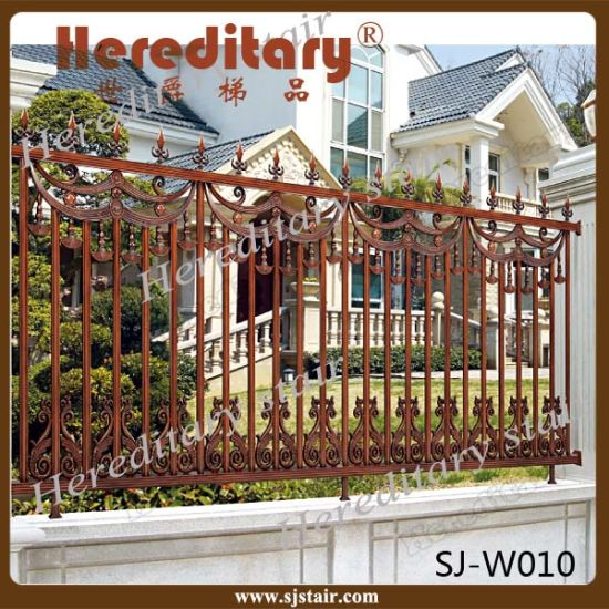 Rome Style Security Aluminum Outdor Cast Aluminum Metal Fence for Garden pictures & photos