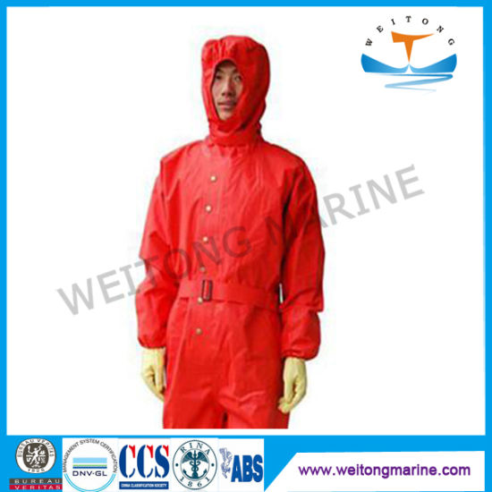 Light Type Chemical Protective Suits for Fireman Fire Fighting