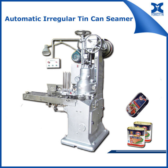 Automatic Food Can Packaging Machine Sealing Seaming Machine pictures & photos