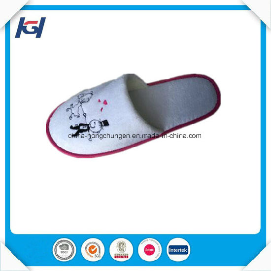 Cheap Wholesale Washable Disposale Terry Towel Slippers pictures & photos