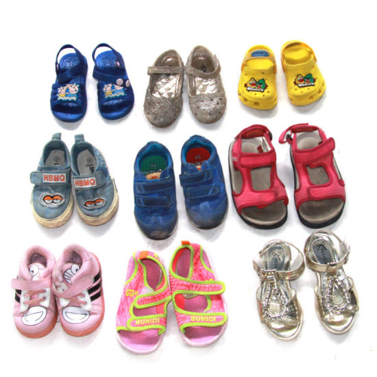 Used Clothes Second Hand Clothing Children's Shoes Bulk Supplying