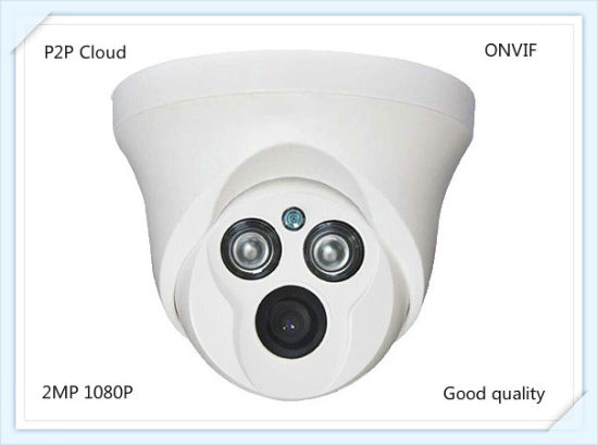 2MP HD Indoor Surveillance CCTV Security IP Network Dome Camera with P2p Onvif IR 20m pictures & photos