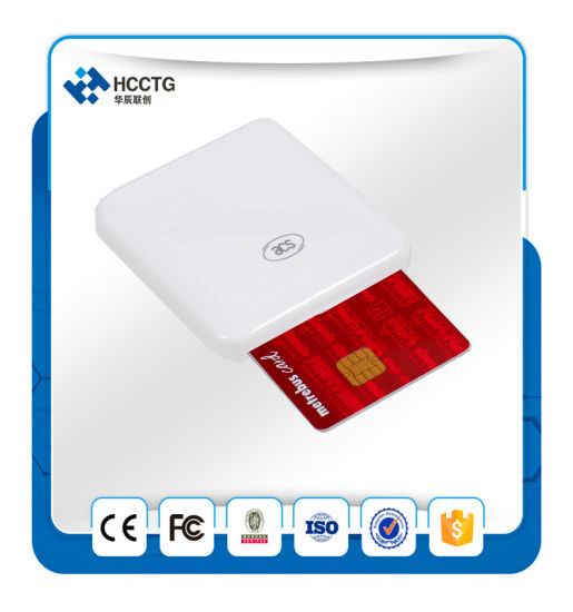 EMV PC-Link Smart Card Reader USB IC Chip Card Reader/Writer ACR38u-I1 pictures & photos