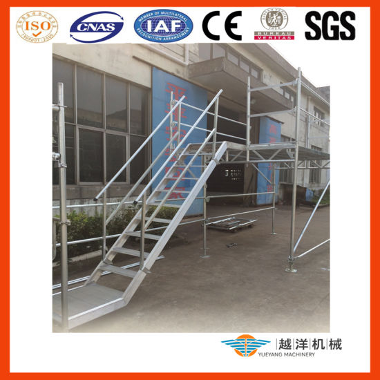 Steel Galvanized Layher Speedy Facade Scaffolding for Easy Set up with En12811