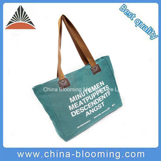8ac9e43f54 Fashion Ladies Tote Ladies Canvas Shoulder Beach Travel Shopping Bag  pictures   photos