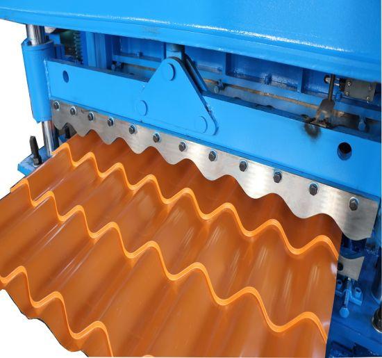 High Quality Glazed Roof Tile Sheet Making Machine Manufacturer