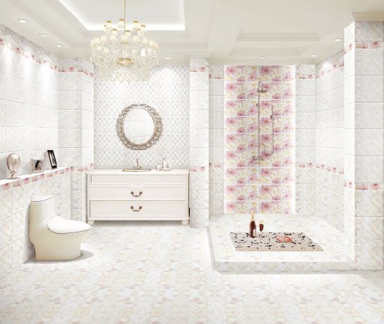China Building Material Glazed Surface Ceramic Tile for Bathroom Wall and Floor