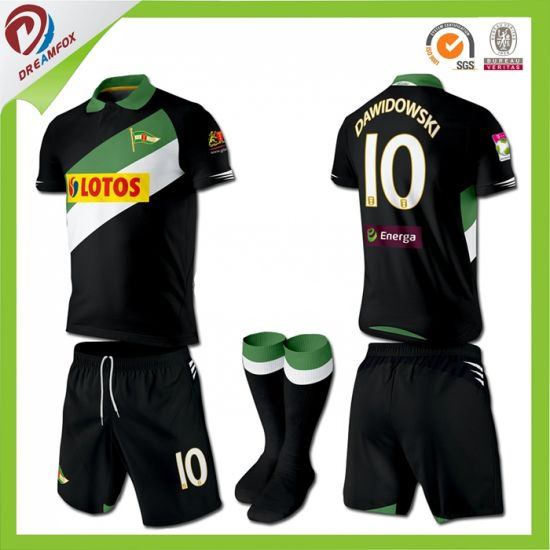 High Quality Custom Made Kids Soccer Jersey Football Shirt pictures & photos