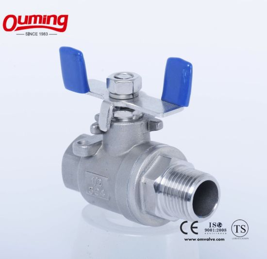 2 PC F/M Ball Valve pictures & photos
