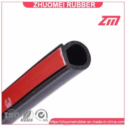 China D Type Noise Insulation Car Door Seal Strip with 3m