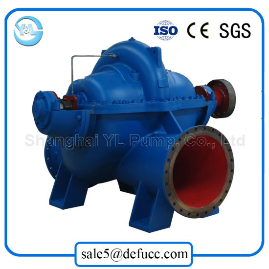 Split Case/Casing Double Suction Centrifugal Clean Water Pump pictures & photos