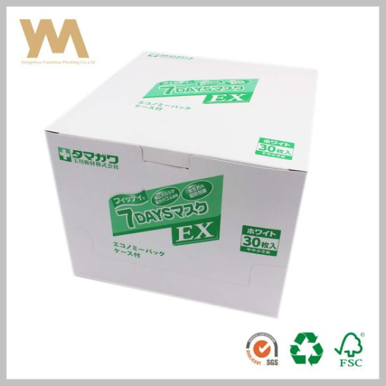 China Japanese Paper Box for Mouth-Muffle or Medicine