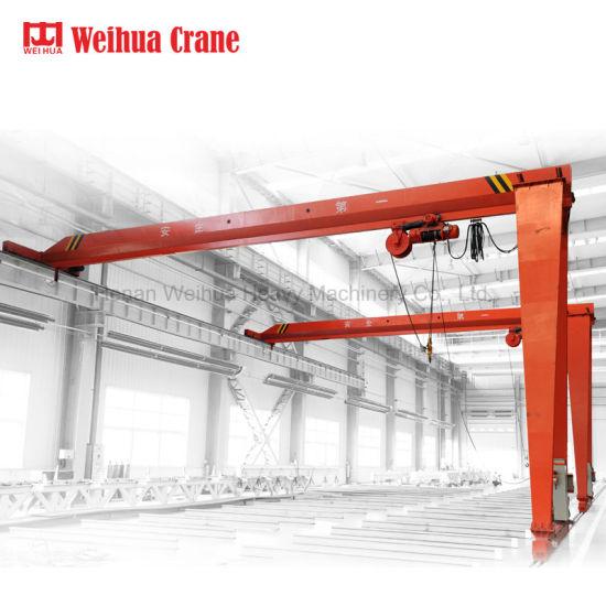 Weihua 3t Hoist Single Beam Half Gantry Crane