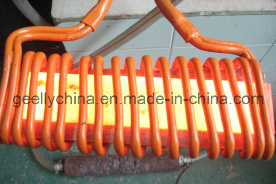 Induction Heating Machine for Steel Rod Head Forging Shaping Induction Heating Machine for Forging pictures & photos