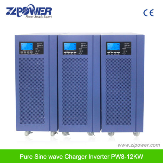 Hybrid Solar Inverter 12kw Pure Sine Wave Inverter with Charger pictures & photos