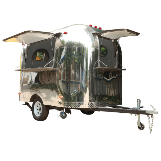 Commercial Food Truck Street Fast Food Snacks Machine Ice Cream Machine Hot Dog Mobile Food Trailer