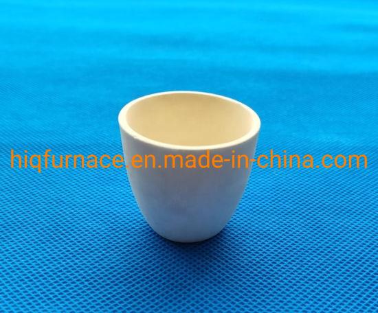 Lab Alumina Ceramic Porcelain Crucibles, Standard Price 99.5 Alumina Refractory Melting Ceramic Crucible