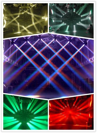 Unlimited Rolling LED 16PCS 25W Moving Head Light pictures & photos