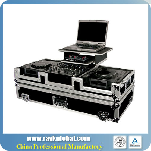 "Rk New Mixer Case for a 19"" Rackmount Live Sound Mixer Console with Slide Laptop Tray pictures & photos"
