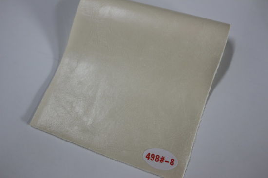 New Semi PU Leather Material For Sofa Furniture (498#)