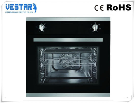 Black Built-in Oven with 4 Burner for Sale pictures & photos