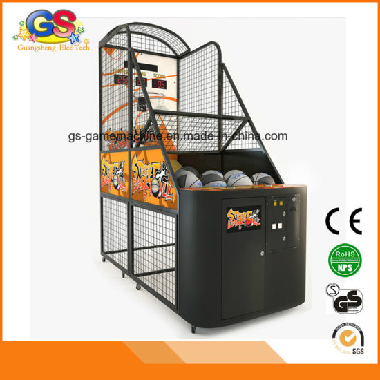 Hoop Fever Electronic Street Basketball Adult Arcade Games Machine for Sale pictures & photos