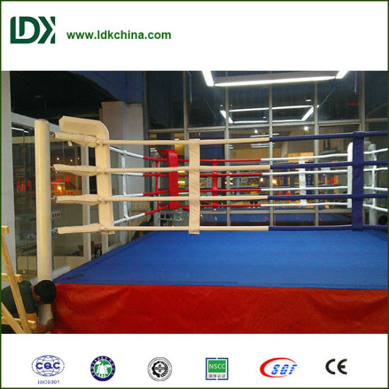 Martial Arts Boxing Equipment Boxing Ring with Padding Mat pictures & photos