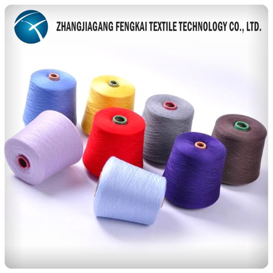 High Quality Polyester Spun Yarn pictures & photos