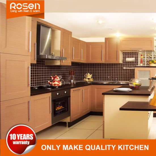 Kitchen Cabinets Furniture With Pvc Finished Maple Online For
