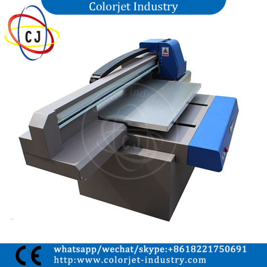 Popular Ce Approved A1 900*600mm Size for Any Hard Material Printing, UV Flatbed Digital Printer pictures & photos