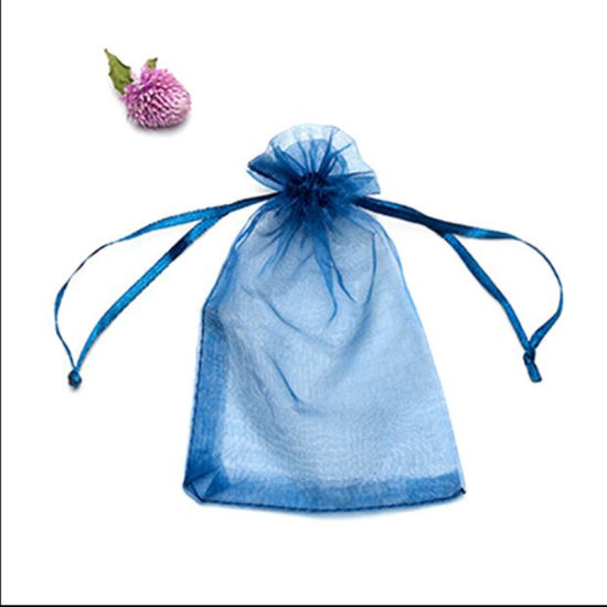 Gift Bags Jewelry Organza Bag Wedding Birthday Party Drawable Pouches Present Jewel Candy Thank You Packaging