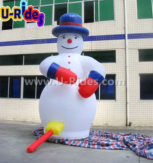 Christmas Decoration Inflatable snowman cartoon for Advertising pictures & photos