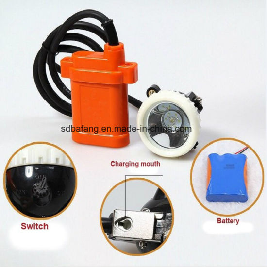 Underground Safety LED Mining Cordless Cap Lamp pictures & photos
