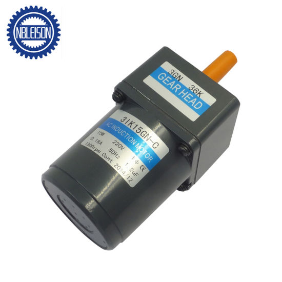 15W Low Rpm AC Induction Gear Motor pictures & photos